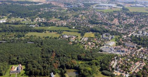 vue aerienne saint-germain-les-arpajon