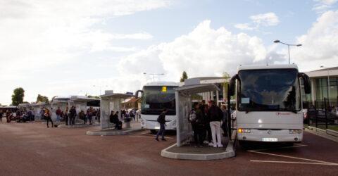 La gare routière René Cassin