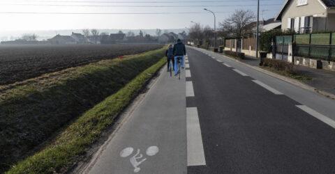 La route de Marolles (voirie, circulation douce)