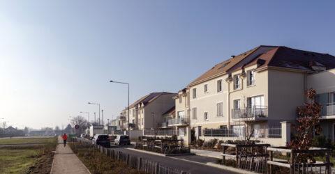 La rue Lieutenant Agoutin (logements)