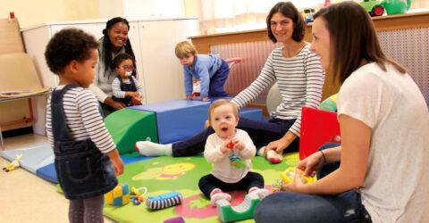 Le lieu d'accueil enfants parents (LAEP)