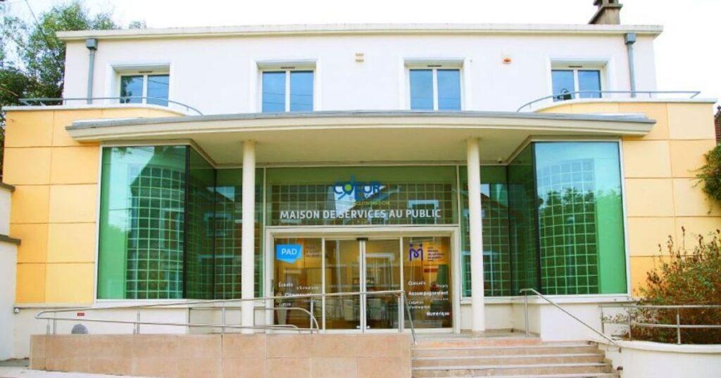 La Maison de services au public à Arpajon
