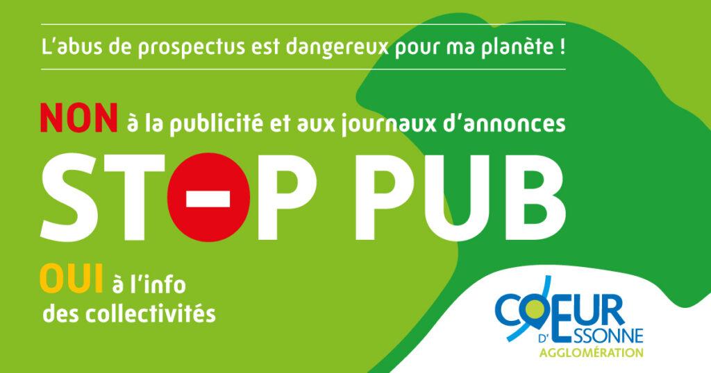Demandez votre auto-collant stop-pub pour préserver la planète