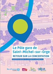Visuel Bilan de concertation pole gare Saint-Michel-sur-Orge