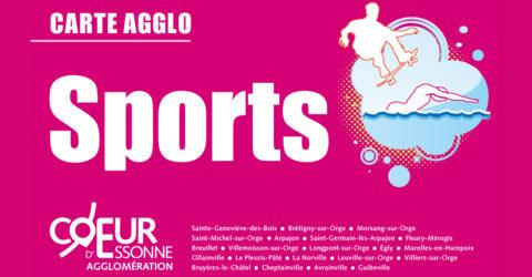 La carte Agglo-sports permet aux habitants de l'Agglo d'obtenir des tarifs réduits
